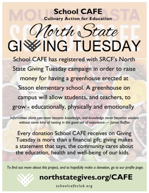 Giving Tuesday Flyer